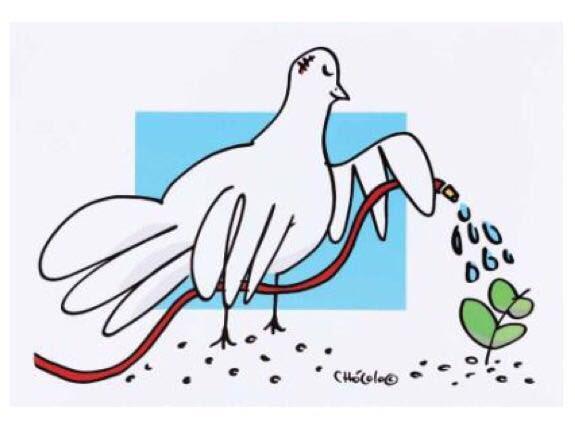 Estampilla de la Paz llevará un dibujo del caricaturista 'Chócolo'