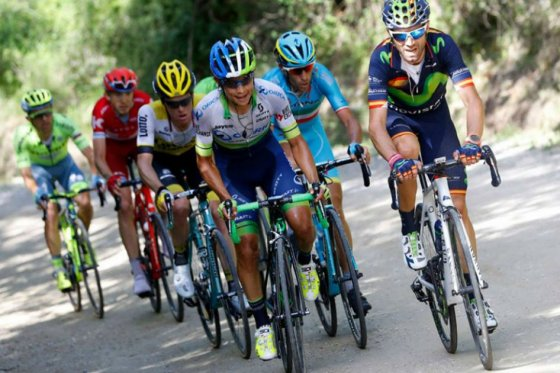 Esteban Chaves finalizó noveno en la décima etapa del Giro de Italia.