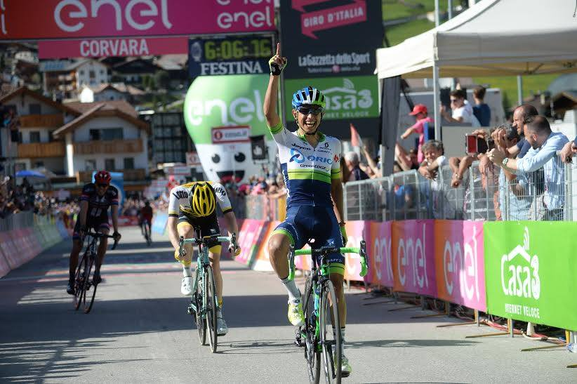 Esteban Chaves gana la Etapa 14 del Giro d'Italia 2016