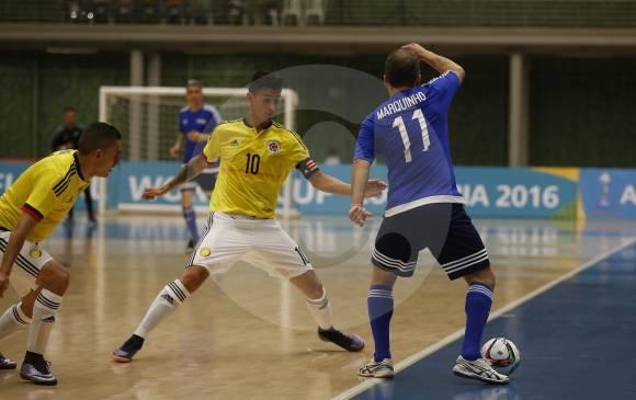Estrellas Fifa derrotó a Colombia en futsal