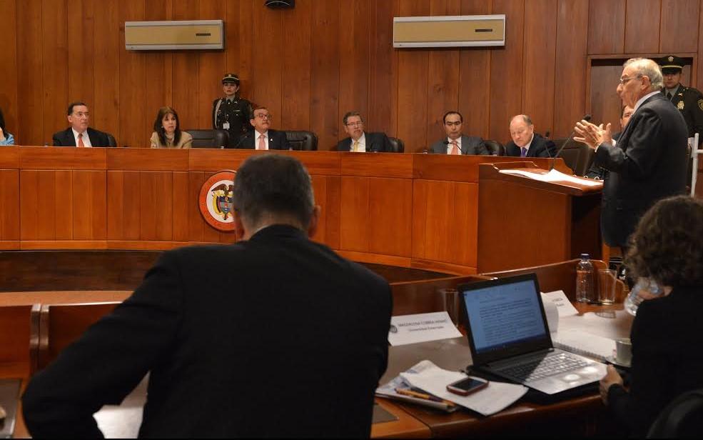 Humberto de la Calle Lombana en la Corte Constitucional