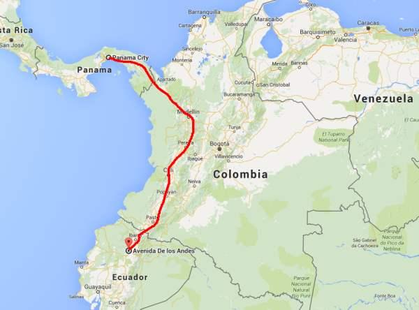 LA-RUTA EMIGRANTES-ECUADOR-PANAMARA