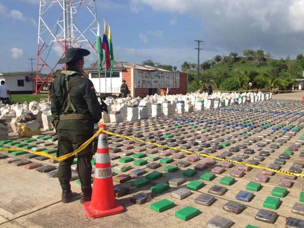 La caleta del 'Clan Úsuga' con aproximadas 8 toneladas de cocaína3