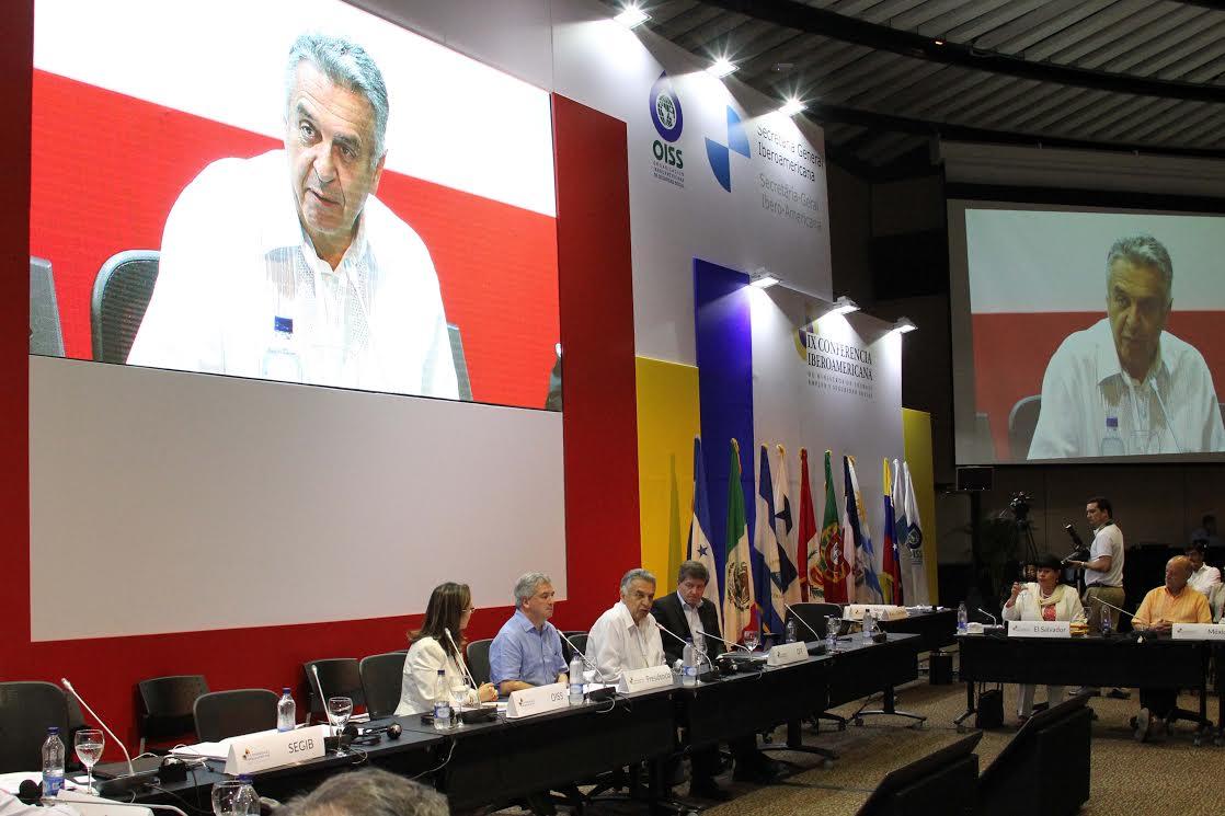 La clausura de la Conferencia estuvo a cargo del ministro del Trabajo, Lucho Garzón
