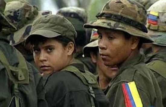 Menores en la Guerrilla