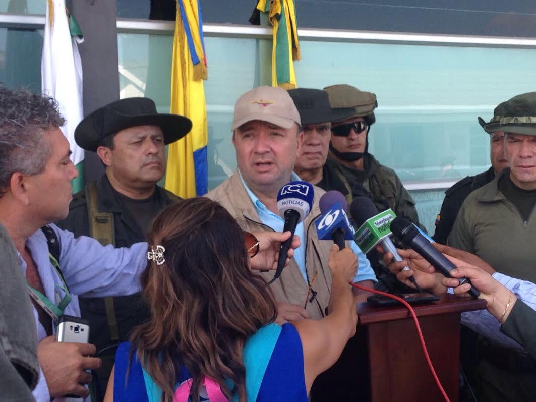 Mindefensa Habla sobre  la incautación  La caleta del 'Clan Úsuga' con aproximadas 8 toneladas de cocaína