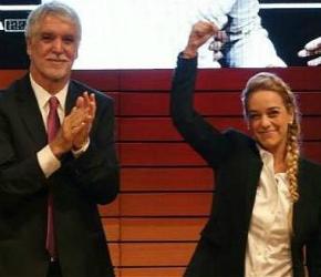 Peñalosa y Lilian Tintori