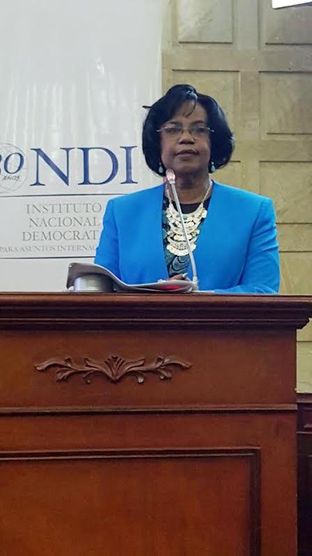 Presidente de la Bancada Afro del Congreso, Guillermina Bravo Montaño