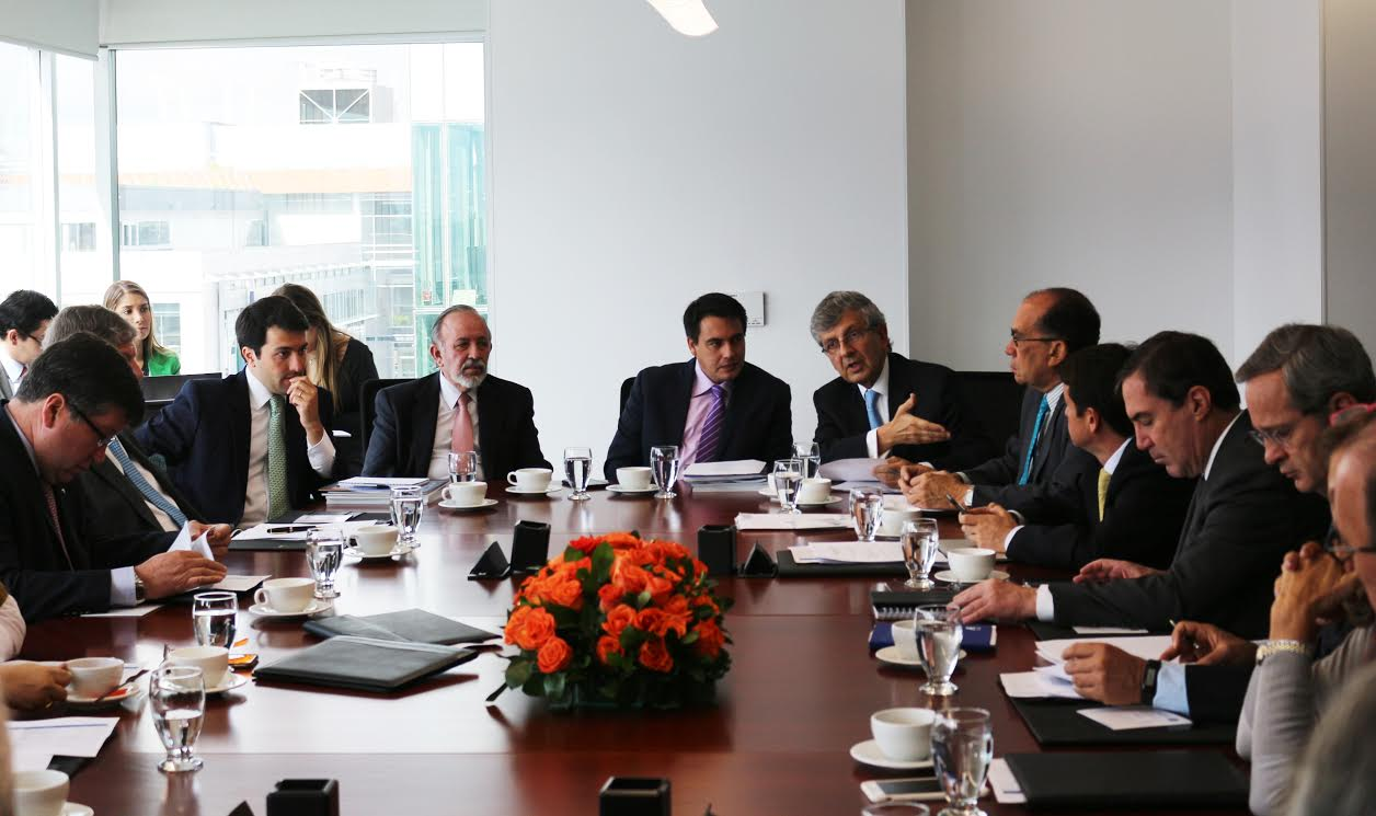 Primera participación del Ministro Jorge Eduardo Rojas en Junta Directiva de la CCI
