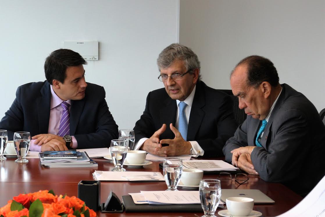 Primera participación del Ministro Jorge Eduardo Rojas en Junta Directiva de la CCI2