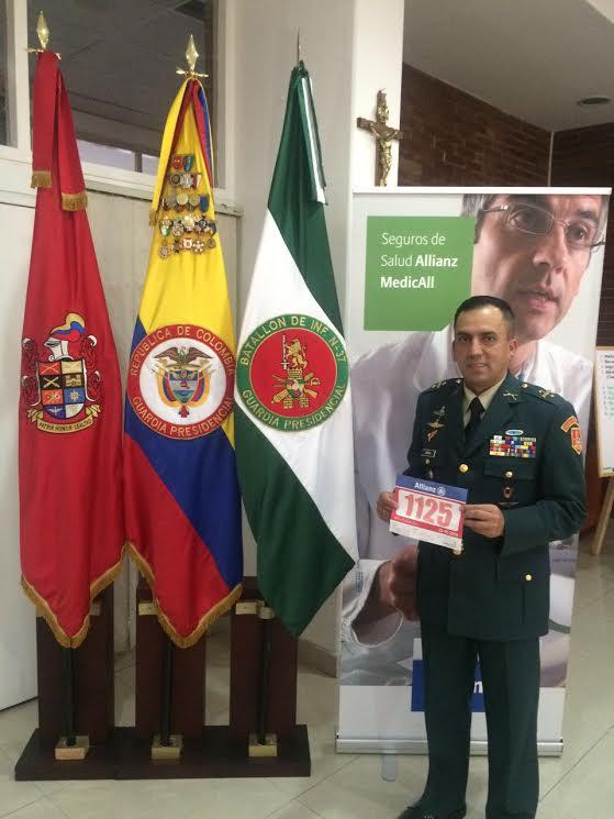 Teniente Coronel Omar Zapata Herrera.