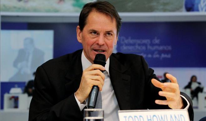 Todd Howland, alto comisionado de las Naciones Unidas en Colombia para los Derechos Humanos