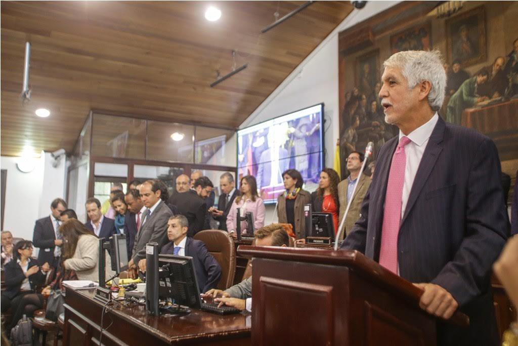 Alcalde en el Concejo Plan de Desarrollo