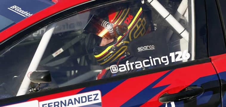 Alejandro Fernández, piloto de la categoría GRC