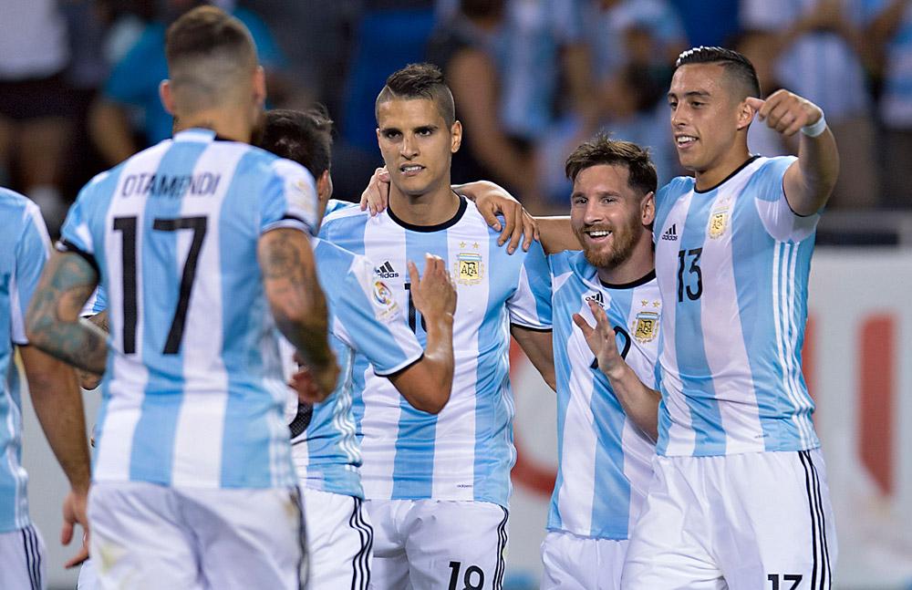 Argentina derroto a Panamá 5-0
