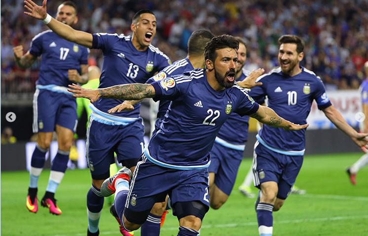 Argentina goleo a USA