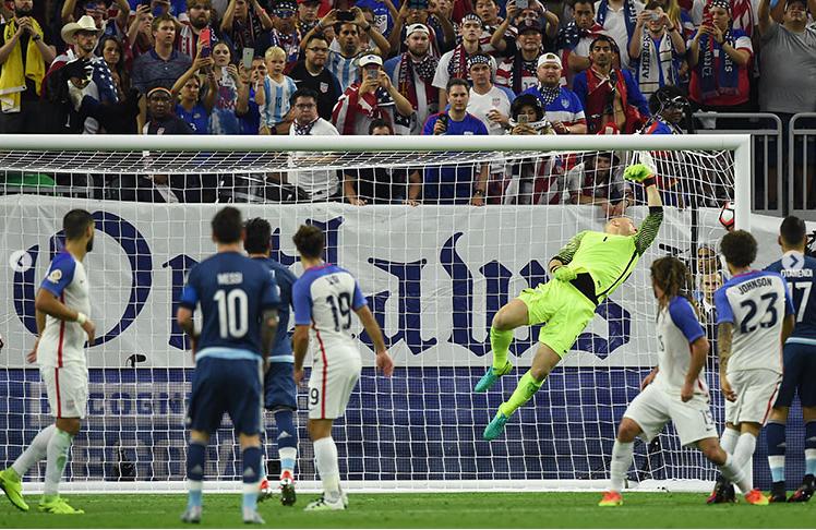 Argentina goleo a USA2