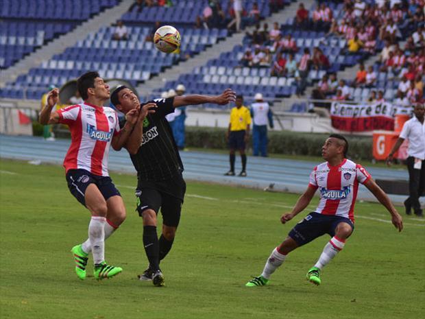 Atlético Junior y Nacional empataron en el juego de ida de las semifinales de la Liga Colombiana.