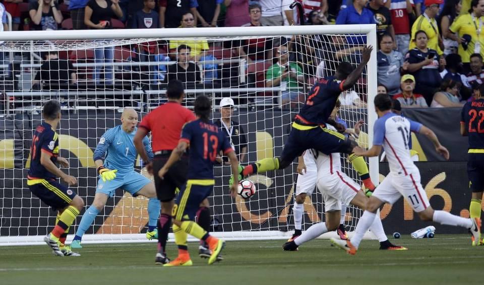 Colombia derroto 0-1 a USA