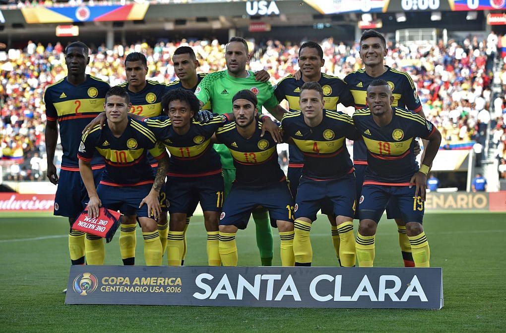 Colombia en la Copa América Centenario