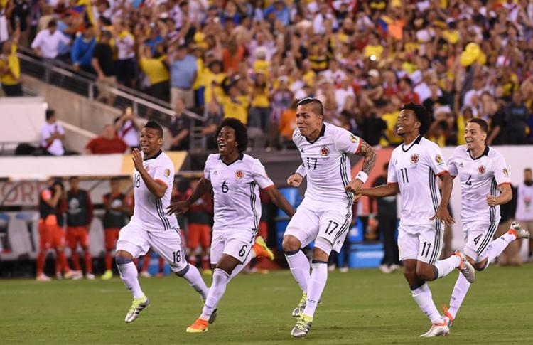 Colombia va Por Chile