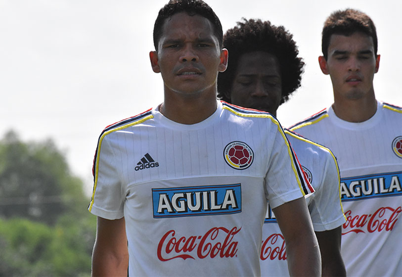 Colombia ya entrenó en New Jersey