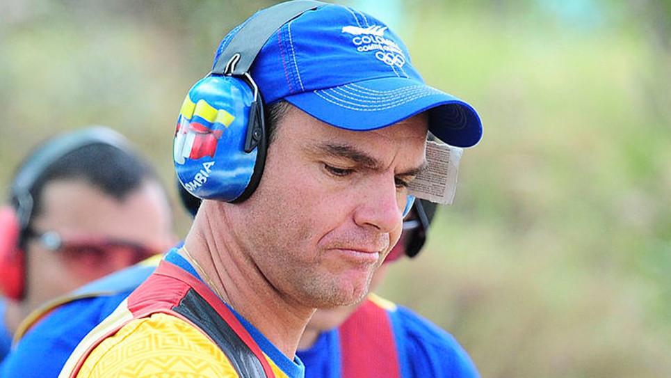Danilo Caro es el clasificado 128 por Colombia a Río, en el tiro deportivo.