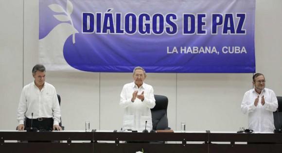 Discurso de Raúl Castro sobre Acuerdo Gobierno-FARC