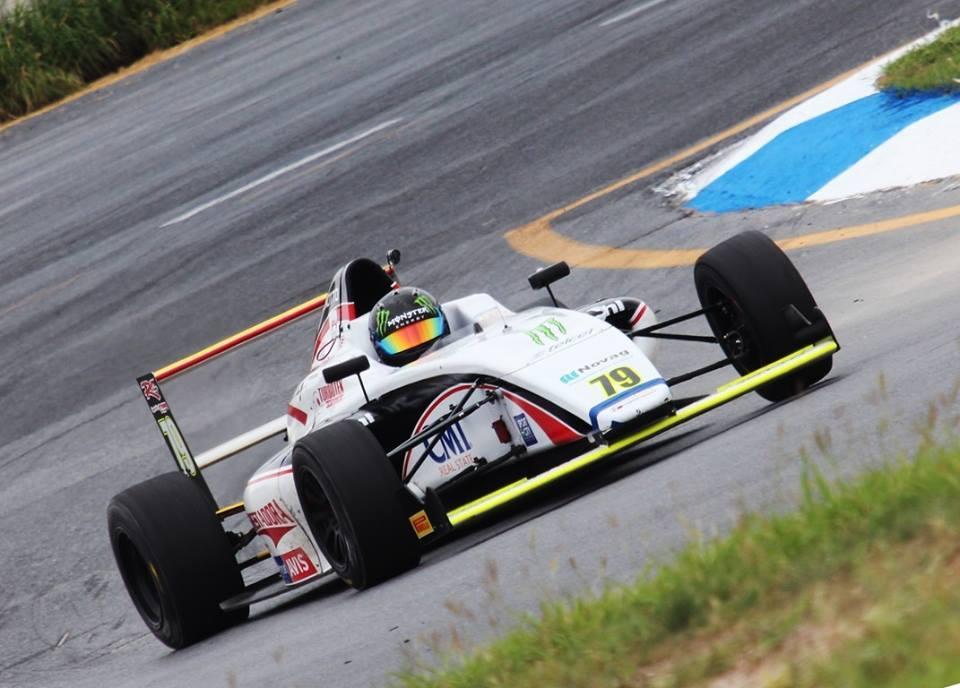 Doble Top 5 de Santiago Lozano en el Nacam FIA  de F4