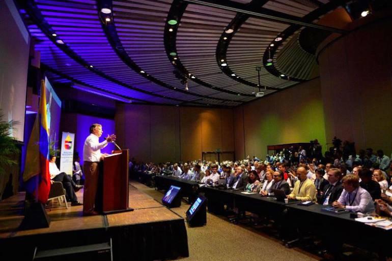 El Presidente clausuró el 68º Congreso Mundial de Medios Informativos