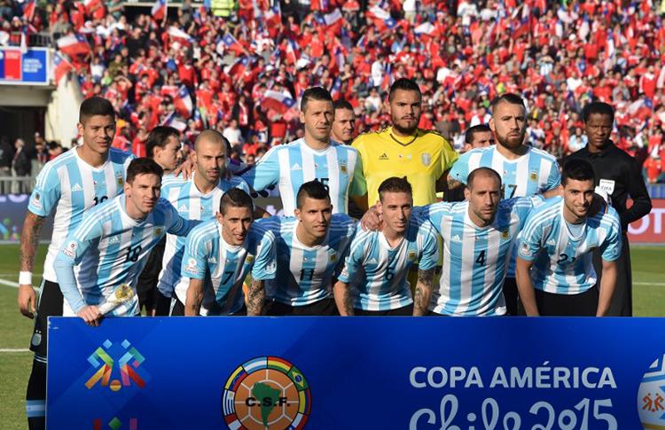 Equipo de Argentina de la final 2015