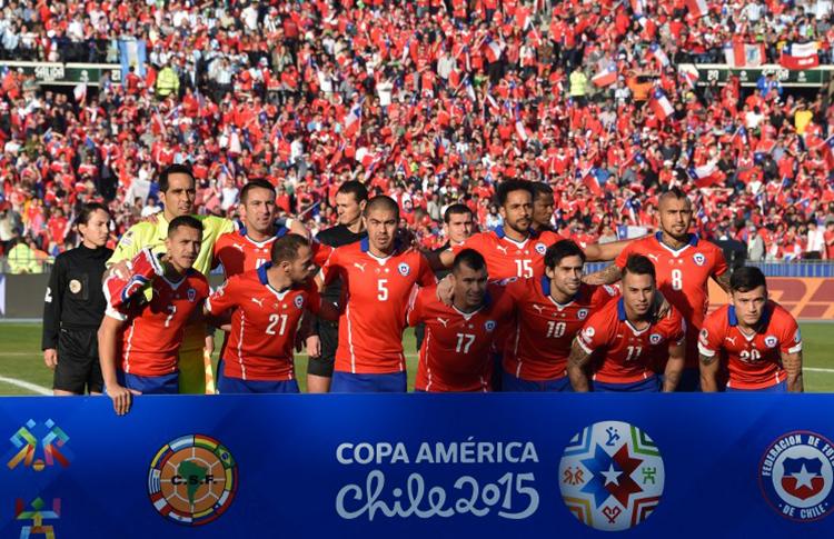 Equipo de Chile de la final 2015