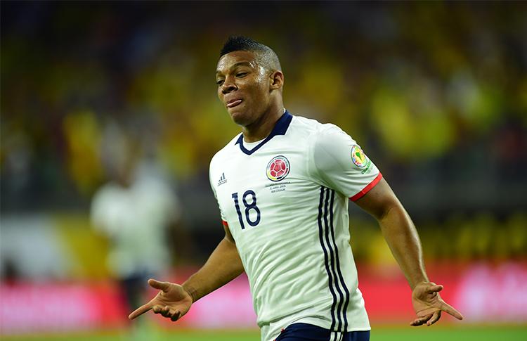 Fabra marcó un gol en esta Copa América Centenario ante Costa Rica
