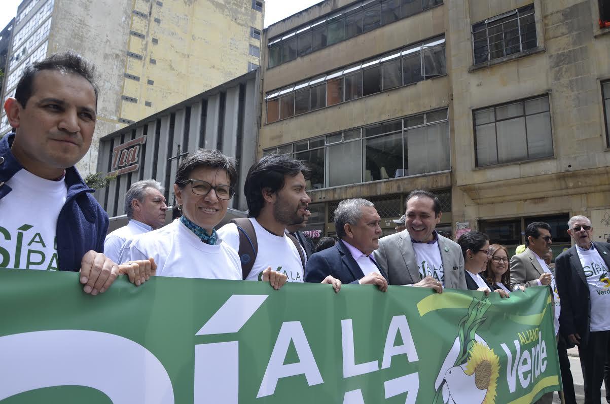 Firmatón de la Alianza Verde por el #SÍALaPAZ