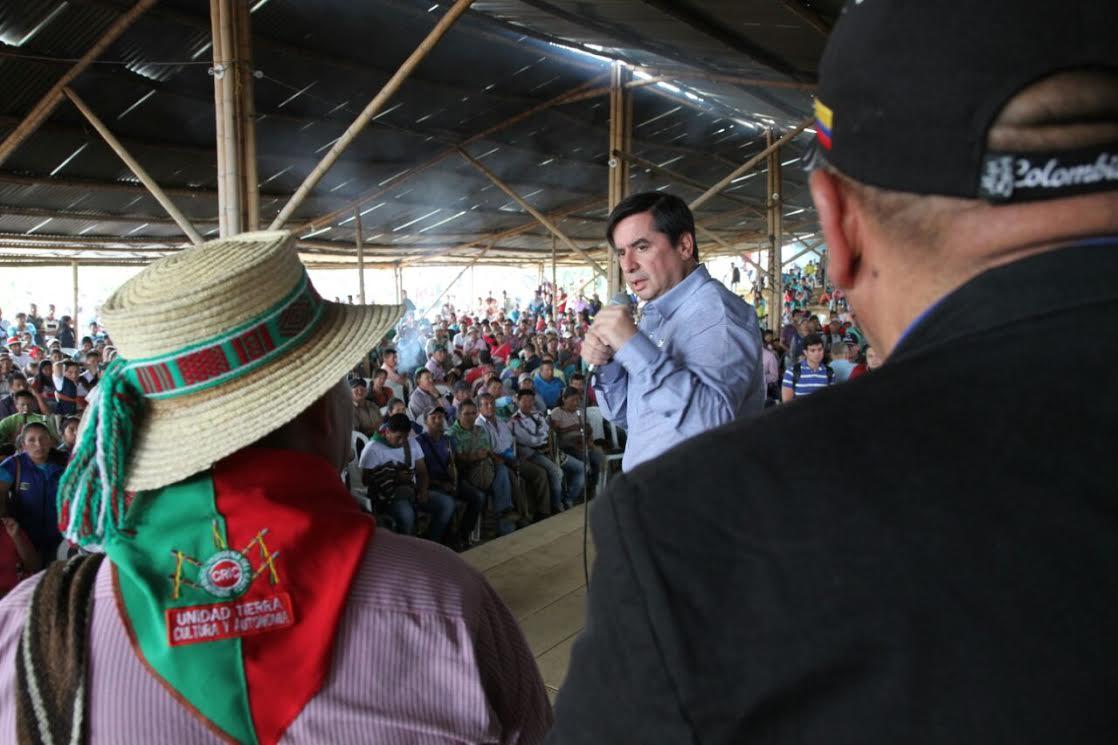 Gobierno y comunidades indígenas del Cauca instalan comisiones de concertación de acuerdos11