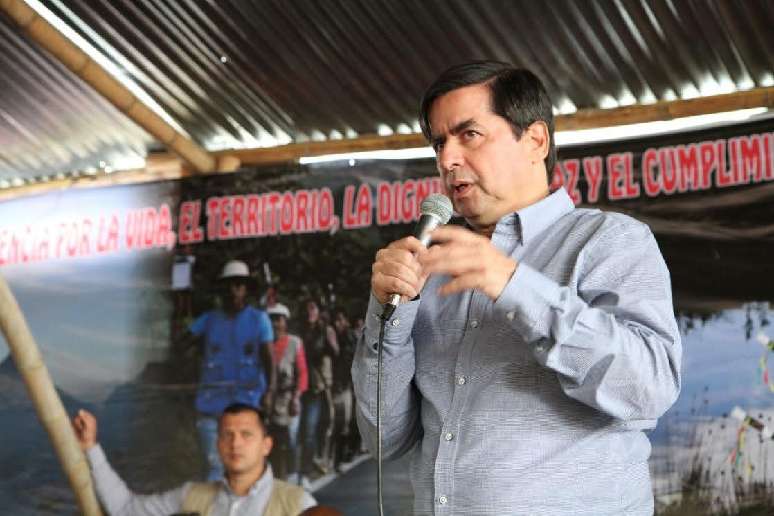 Gobierno y comunidades indígenas del Cauca instalan comisiones de concertación de acuerdos15