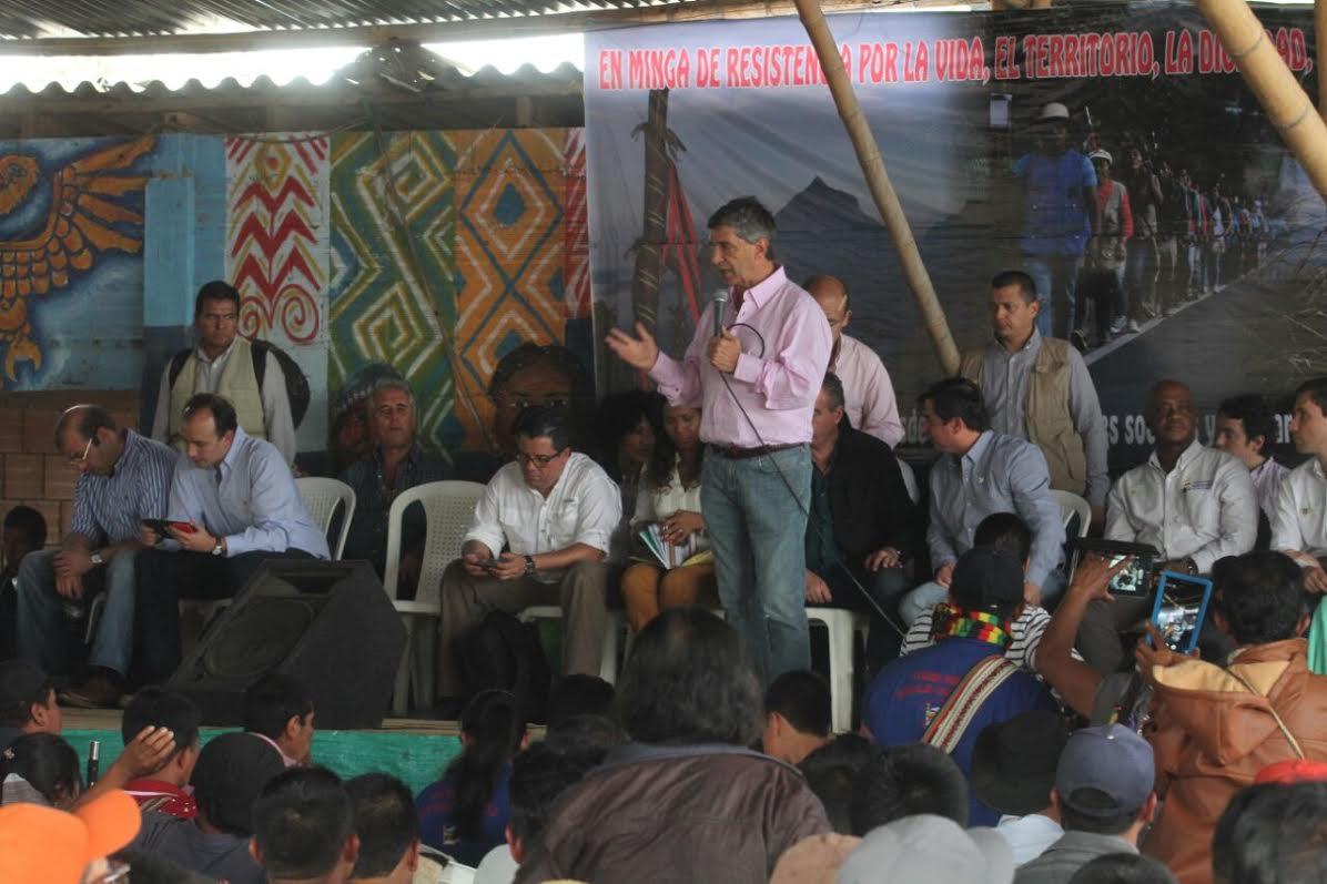 Gobierno y comunidades indígenas del Cauca instalan comisiones de concertación de acuerdos7