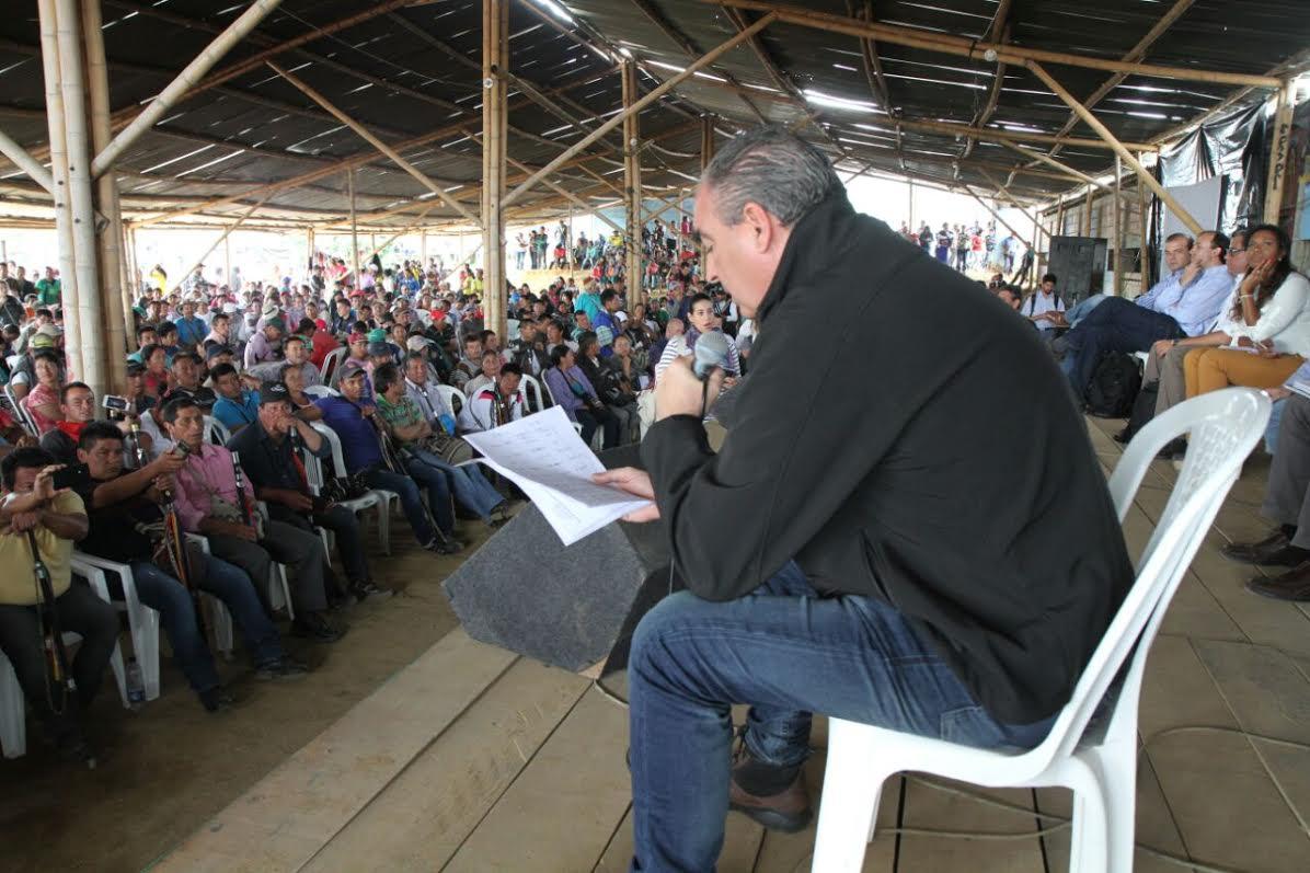 Gobierno y comunidades indígenas del Cauca instalan comisiones de concertación de acuerdos9