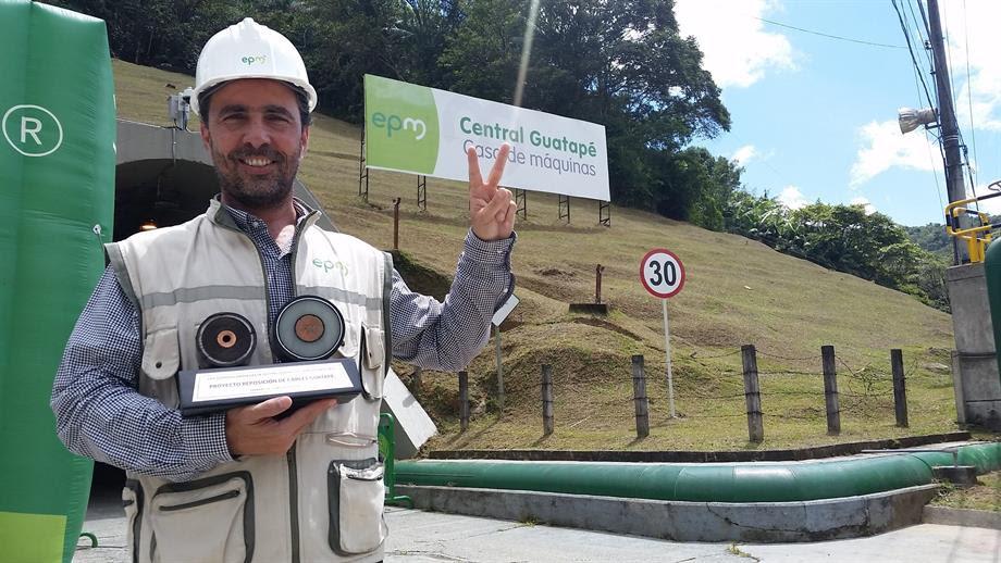 EPM informó que están en funcionamiento las 8 unidades de generación de energía aportando 560 megavatios al Sistema Interconectado del país. Foto tomada de @EPMestamosahi