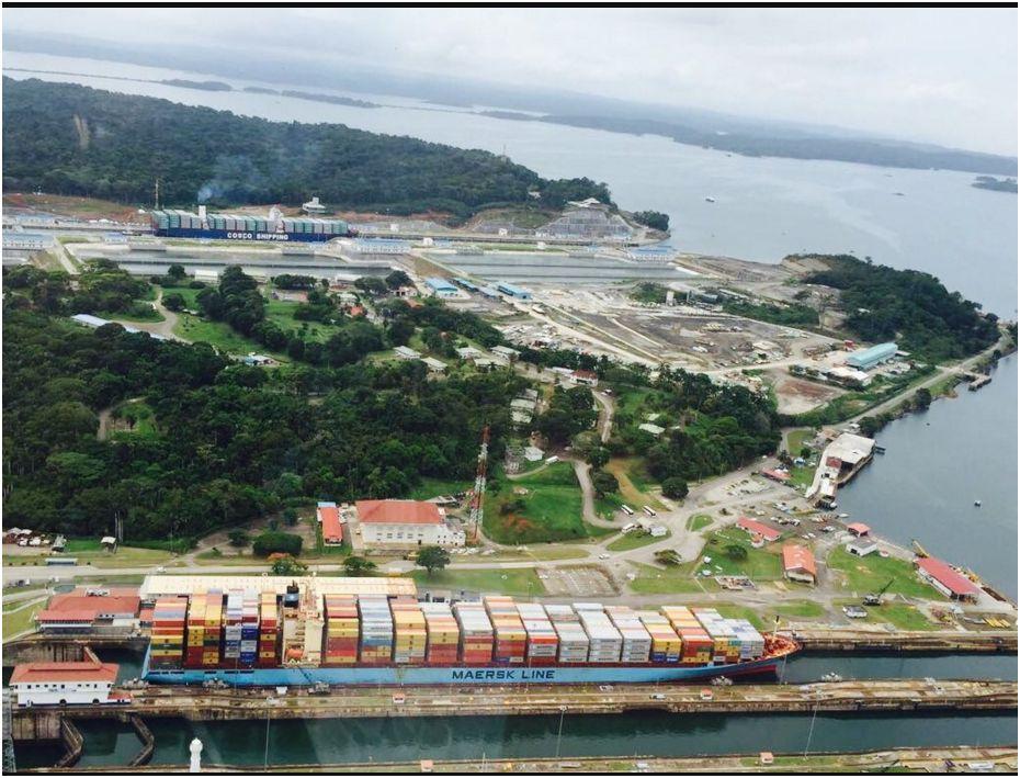 Inauguración de la ampliación del Canal de Panamá