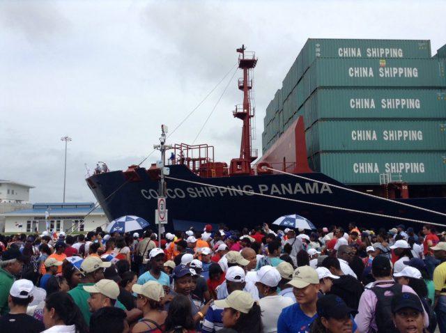 Inauguración del Canal Ampliado3