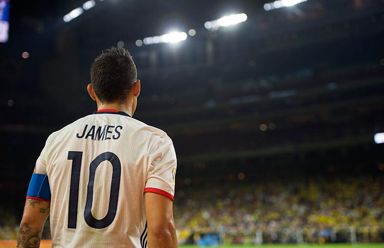 James, la pesadilla chilena