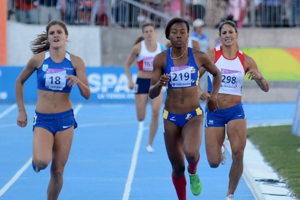La atleta Evelis Aguilar
