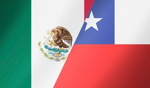 México Vs Chile por Semifinales