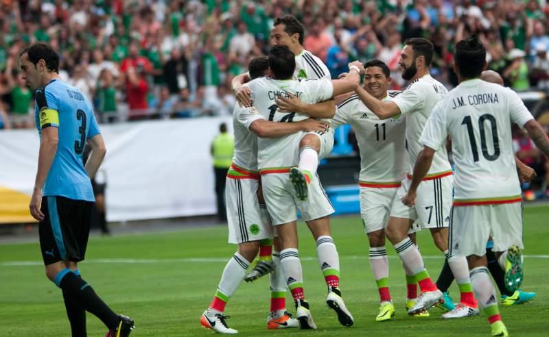 México venció a Uruguay2