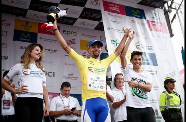 Mauricio Ortega, campeón de la Vuelta a Colombia 2016.