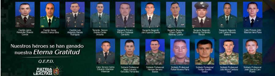 Militares muertos en Accidente del Helicoptero en Pensilvania