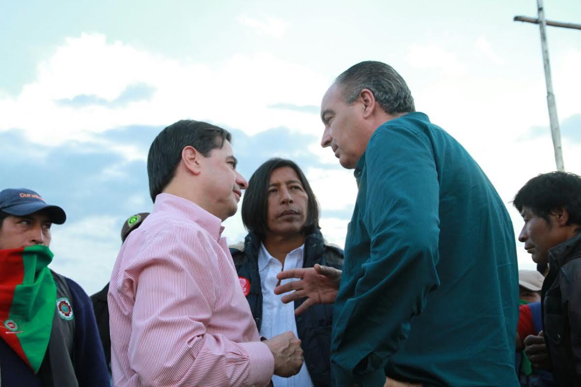 Mininterior,representante Indígena y Minagricultura