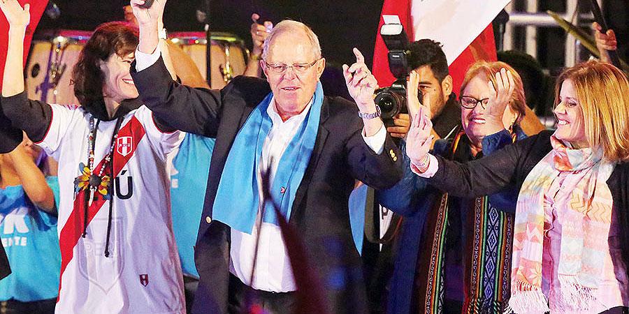 Con un 50,12% de las preferencias, el candidato de Peruanos por el Kambio, derrotó a Keiko Fujimori.