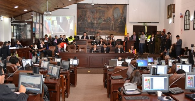 Plenaria aprueba plan de desarrollo 2016